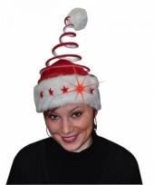 Kerstmuts spiraal met licht trend