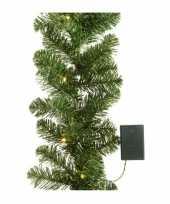 Kerstslinger inclusief licht 180 cm trend