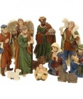 Kerststalletje figuren 11 stuks trend