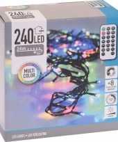 Kerstverlichting afstandsbediening gekleurd buiten 240 lampjes trend
