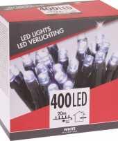 Kerstverlichting budget helder buiten 400 lampjes trend
