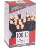 Kerstverlichting budget warm wit buiten 100 lampjes trend