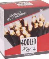 Kerstverlichting budget warm wit buiten 400 lampjes trend