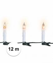 Kerstverlichting kaarsen binnen 30 lampjes trend