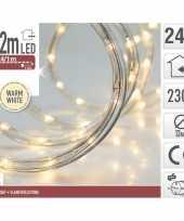 Kerstverlichting lichtslang warm wit buiten 12 meter trend