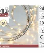 Kerstverlichting lichtslang warm wit buiten 6 meter trend