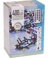 Kerstverlichting op afstandsbediening gekleurd 400 lampjes trend
