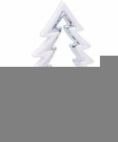 Kerstversiering kerstboom theelichthouder keramiek 21 cm trend