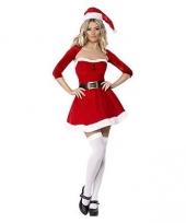 Kerstvrouw jurkje met bolero trend
