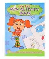 Kinder activiteitenboek 3 tot 8 jaar type 1 trend