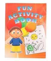 Kinder activiteitenboek 3 tot 8 jaar type 3 trend