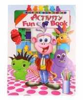 Kinder activiteitenboek 3 tot 8 jaar type 6 trend