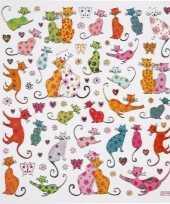Kinder agenda stickers katten trend
