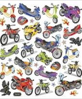 Kinder agenda stickers motoren trend