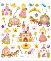 Kinder agenda stickers prinsessen trend