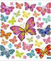 Kinder agenda stickers vlinders trend