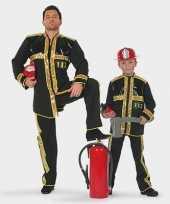 Kinder brandweer pak trend