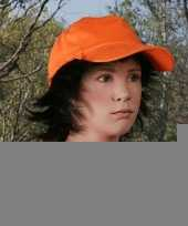 Kinder cap petjes oranje trend