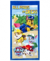 Kinder handdoek paw patrol all paws on deck trend