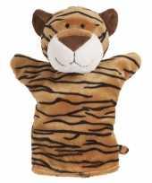 Kinder handpoppen tijger 22 cm trend