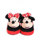 Kinder instap pantoffels minnie mouse trend