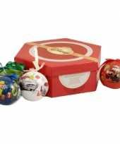 Kinder kerstballen van disney cars trend