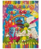 Kinder kleurboek 2 tot 8 jaar no 1 trend