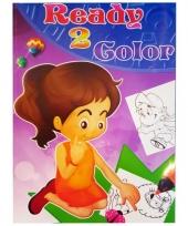 Kinder kleurboek 2 tot 8 jaar no 2 trend