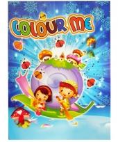 Kinder kleurboek 2 tot 8 jaar no 3 trend