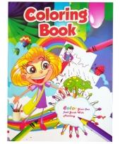 Kinder kleurboek 2 tot 8 jaar no 4 trend