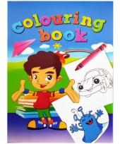 Kinder kleurboek 2 tot 8 jaar no 5 trend