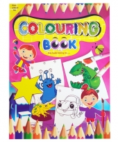 Kinder kleurboek 2 tot 8 jaar no 6 trend