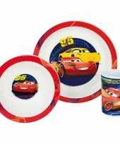 Kinder ontbijt set cars trend