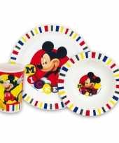 Kinder ontbijt set mickey mouse trend