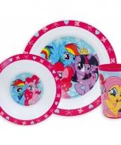 Kinder ontbijt set my little pony trend