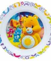 Kinder ontbijtbord troetelbeertjes 22 cm trend