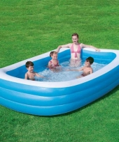 Kinder opblaasbaar zwembad 305 cm trend