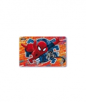 Kinder placemat 3d spiderman trend