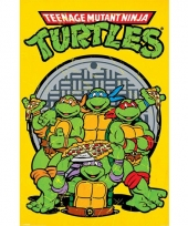 Kinder poster turtles trend