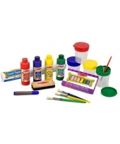Kinder schildersezel benodigdheden trend