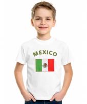Kinder shirts met vlag van mexico trend