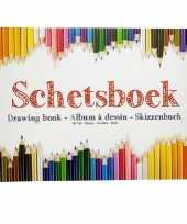 Kinder teken schets boek a4 trend