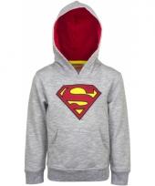 Kinder trui superman grijs van katoen trend
