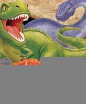 Kinder verjaardag dinosaurus servetten 16 stuks trend