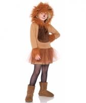 Kinder verkleedkleding leeuw trend