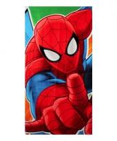 Kinder zwembad handdoek spiderman trend