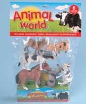 Kinderboederij dieren 6 stuks trend