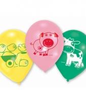 Kinderfeest ballon boerderij trend