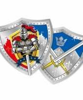 Kinderfeest ridder bordjes trend