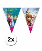 Kinderfeestje frozen vlaggetjeslijn 2 meter trend 10060988
